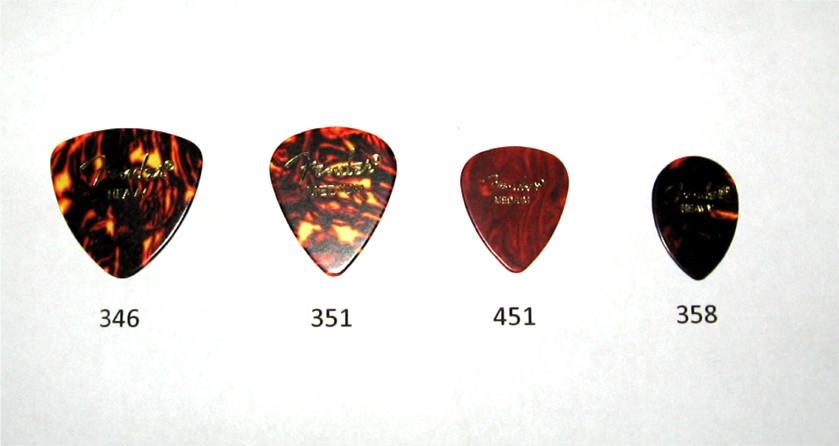 Fender Teardrop Pick : What is your favorite pick shape page the acoustic
