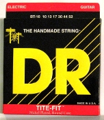 Strings, DR Tite-Fit Nickel Plated For Electric Guitar