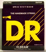 Strings, DR Hi-Beam Nickel Plated For Electric Guitar