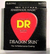 Strings, DR  Dragon Skin K3 Clear Coated For Electric Guitar