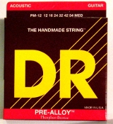 Strings, DR Pre-Alloy For Acoustic Guitar