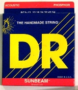 Strings, DR Sunbeam For Acoustic Guitar